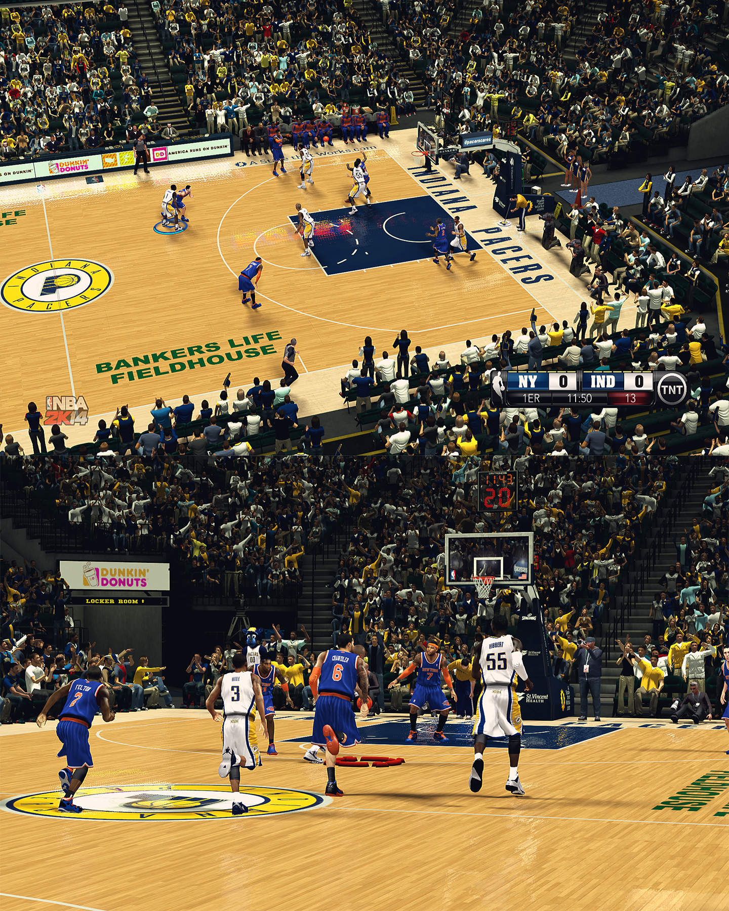 Indiana Pacers - Bankers Life Fieldhouse - HD Arena