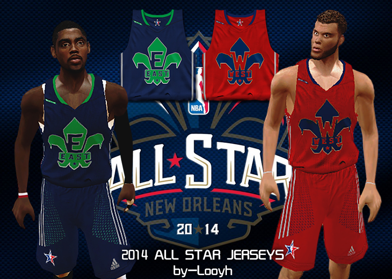 2014 All-Star Jerseys