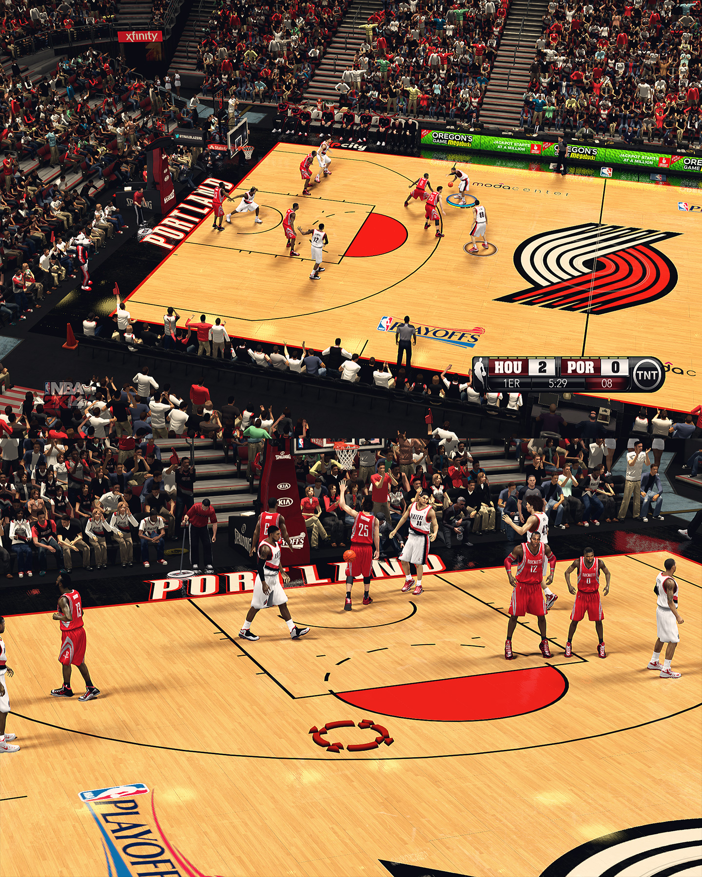 Portland Trail Blazers Moda Center - HD Arena