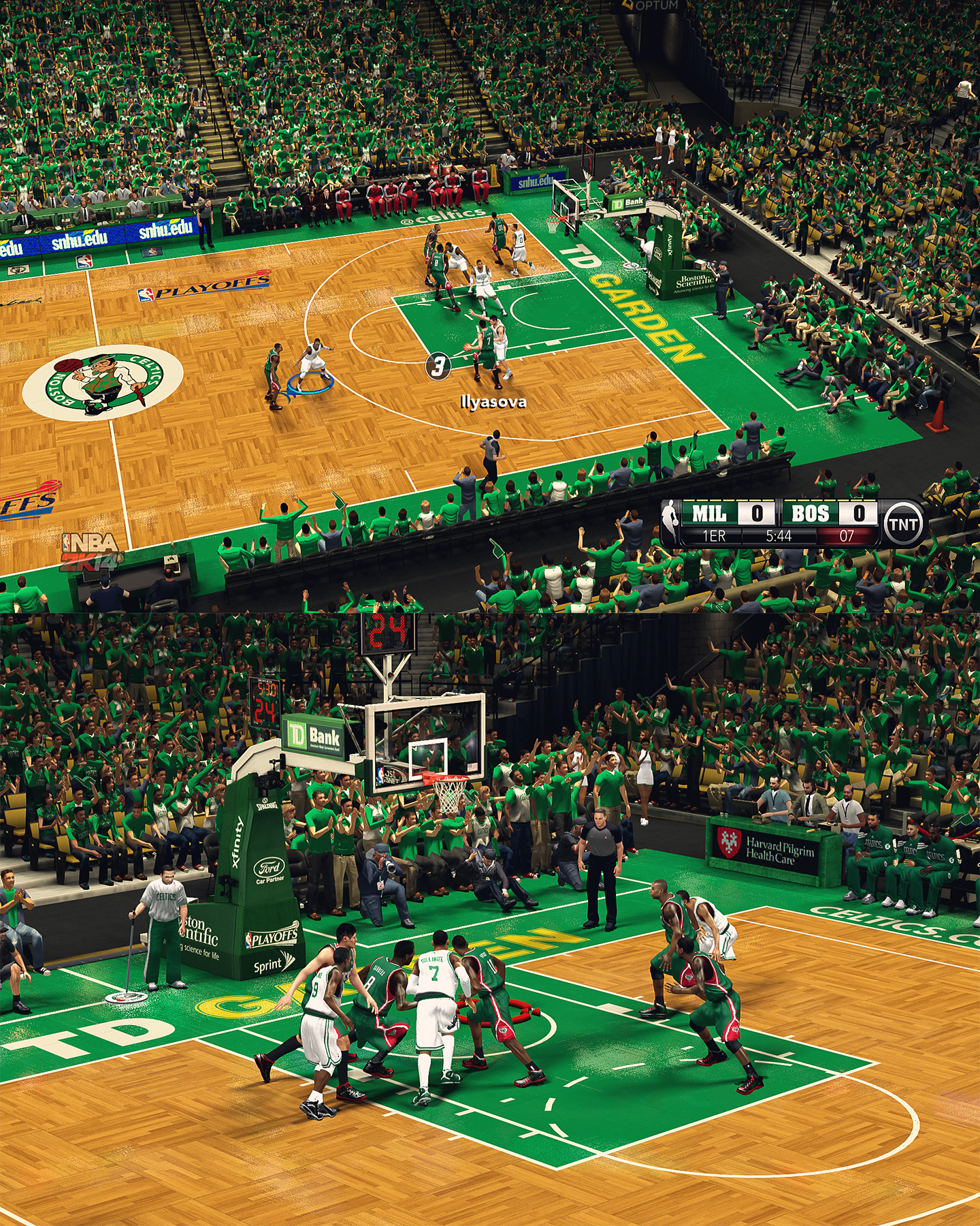 Boston Celtics TD Garden - HD Arena