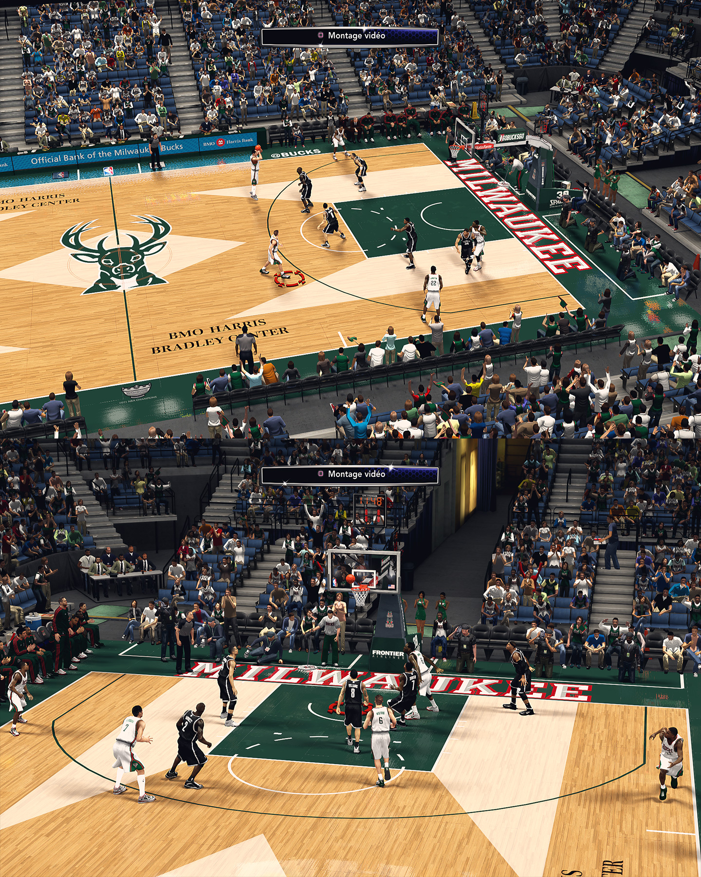 Milwaukee Bucks BMO Harris Bradley Center - HD Arena