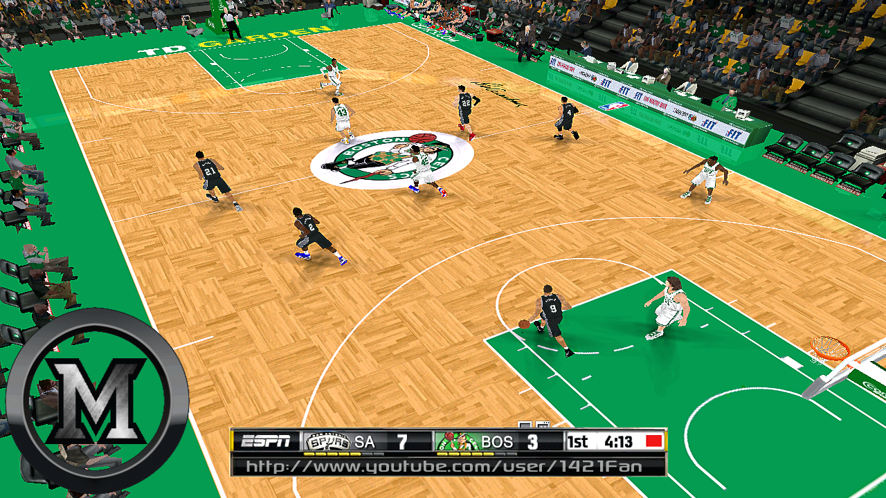 Boston Celtics 2013/2014 Court Patch