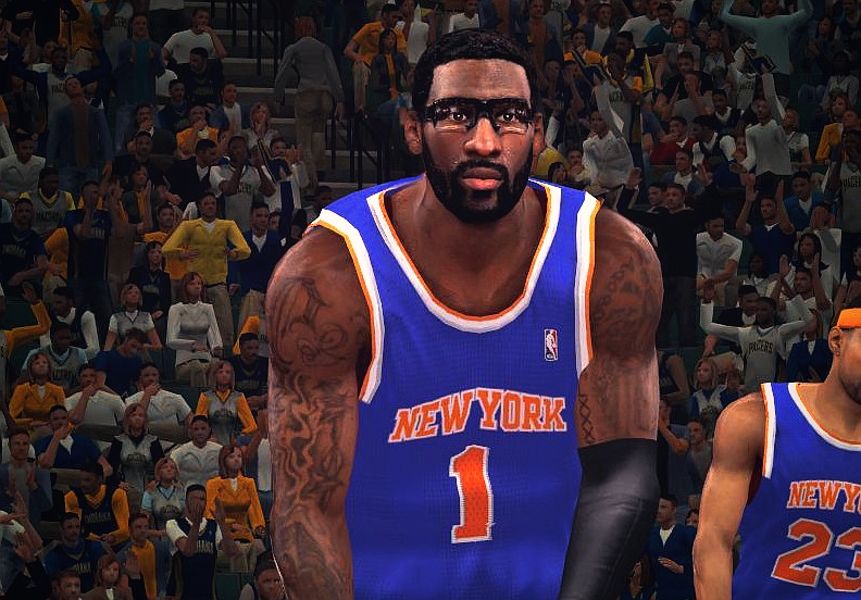 Amar'e Stoudemire HD Face (Beard + Fro)