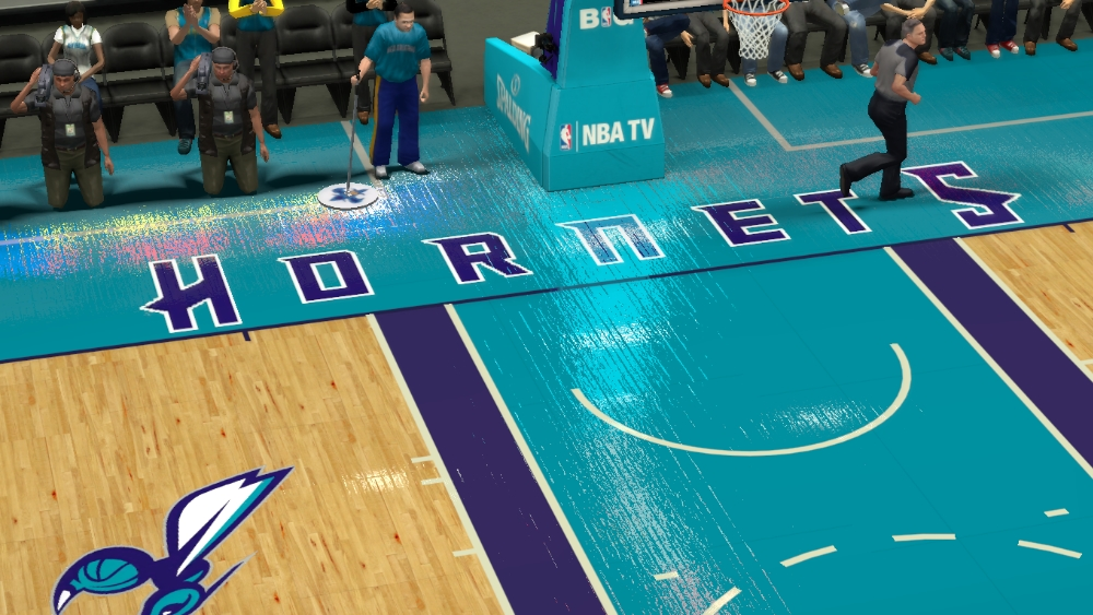 2014/2015 Fictional Charlotte Hornets Court