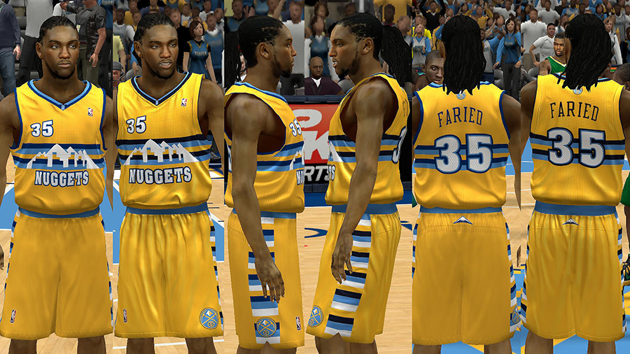 Denver Nuggets Jersey Pack