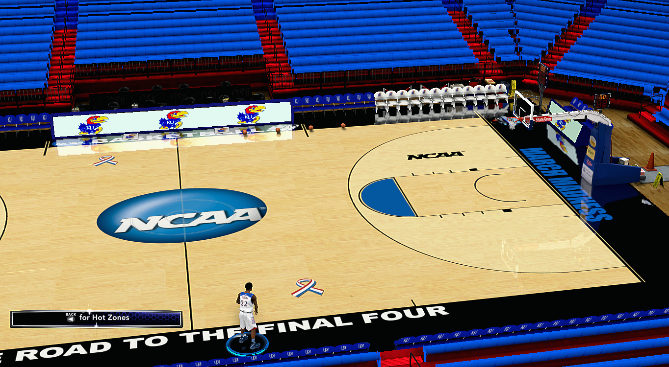 NCAA Tournament Court (HD)