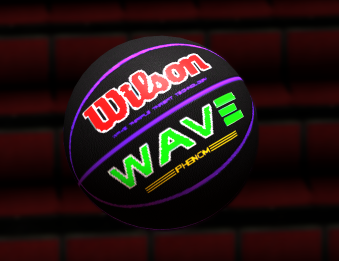 NBA 2K14 Wilson NCAA Wave Phenom Ball