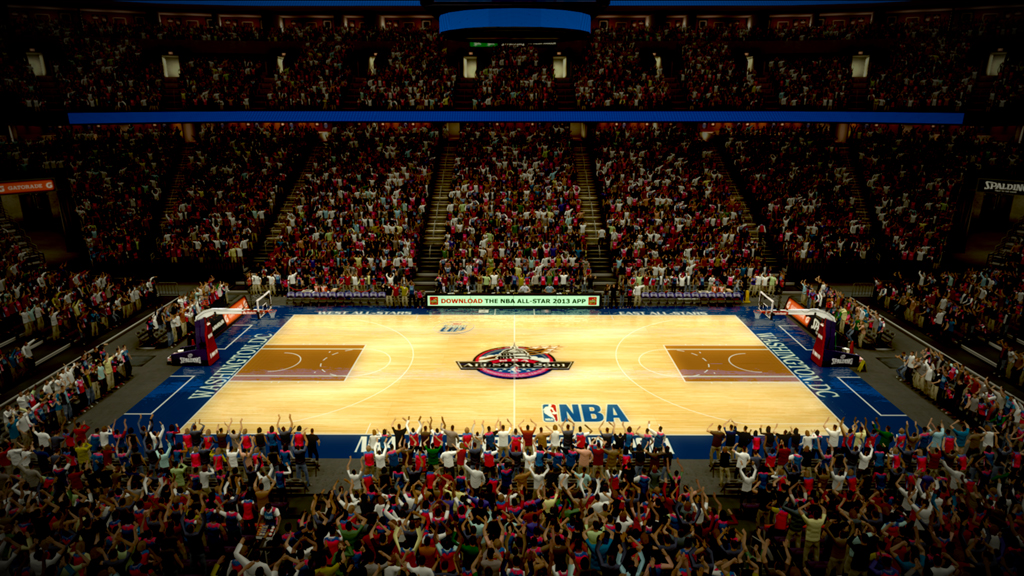2001 NBA All-Star Court in Washington