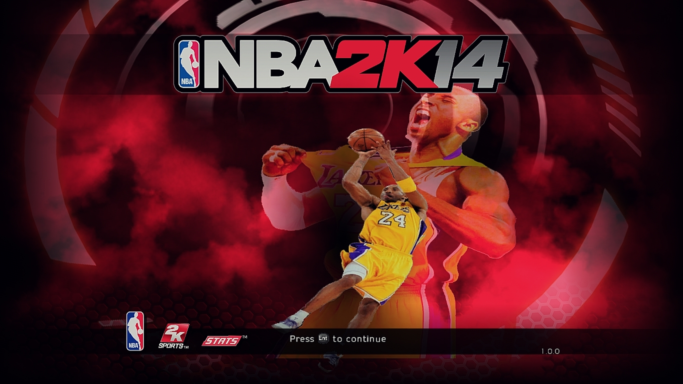 Kobe Bryant Title Screen