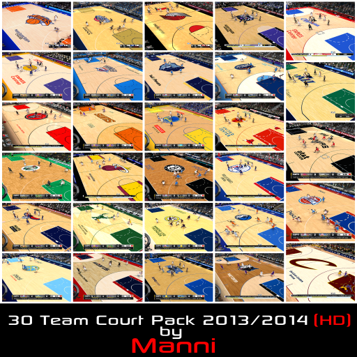 30 Team Court Pack 2013/2014 (HD)