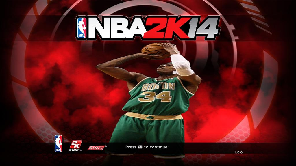 Paul Pierce Title Screen (Boston Celtics)