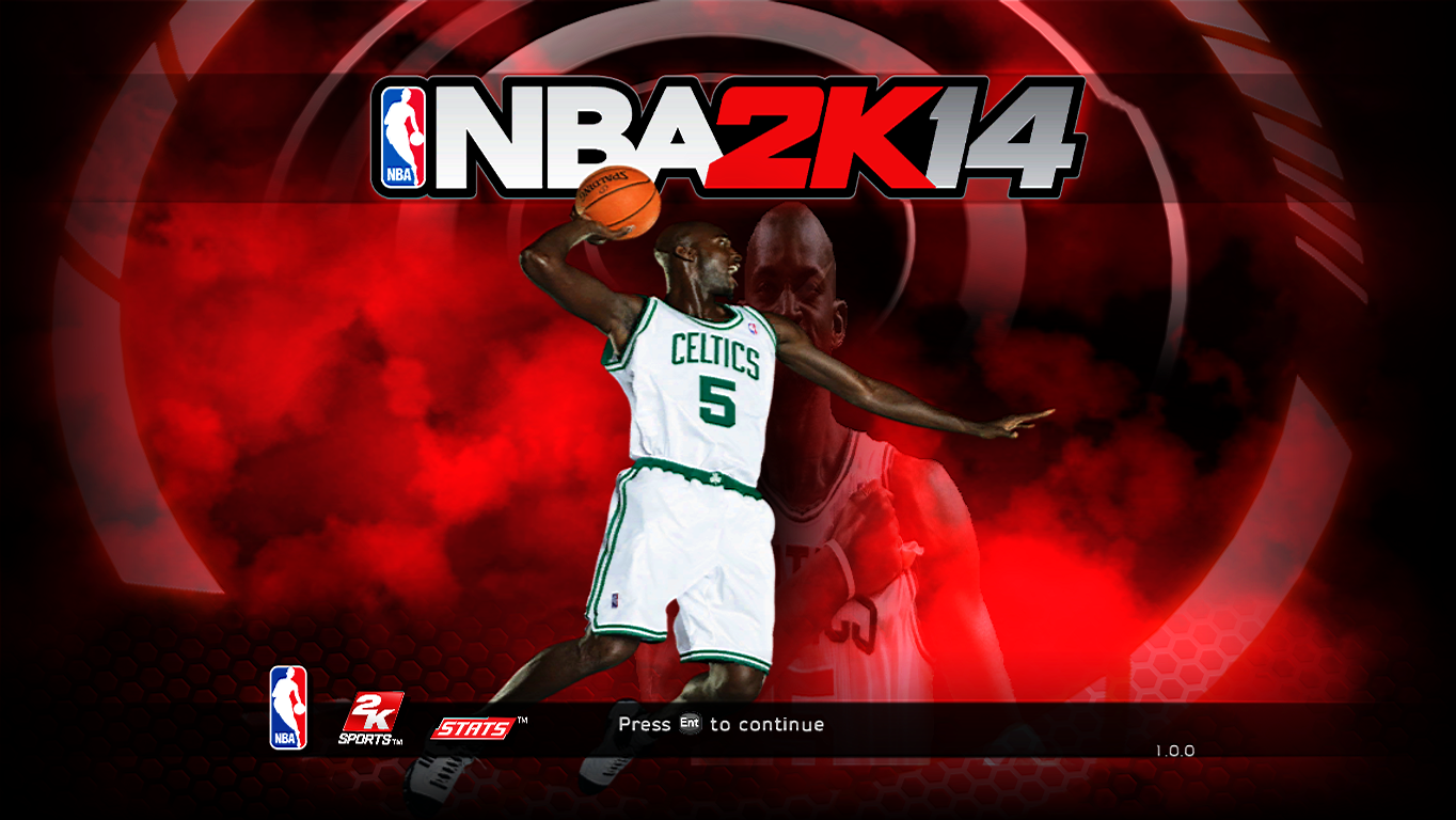 "Kevin ""Big Ticket"" Garnett Title Screen"
