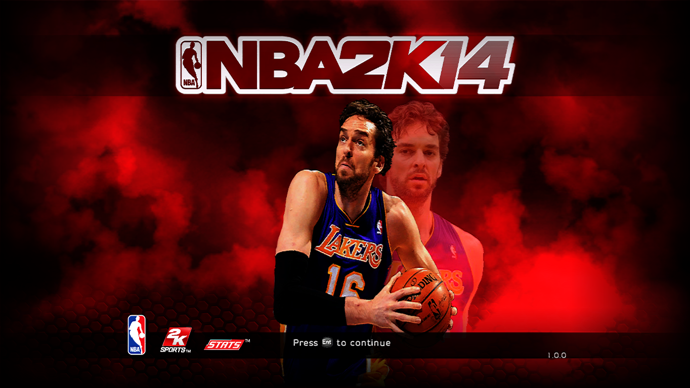 Pau Gasol Title Screen
