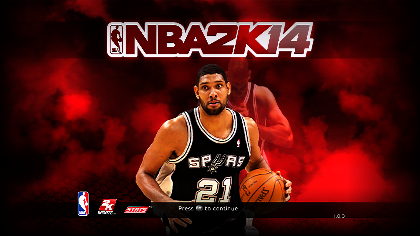 Tim Duncan Title Screen