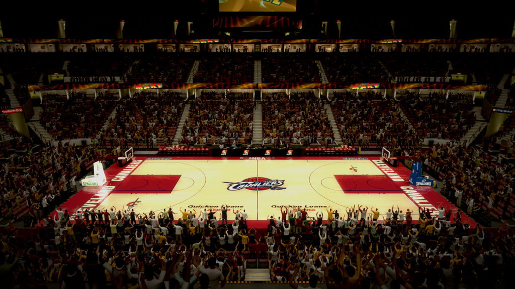 2006 Quicken Loans Arena in Cleveland