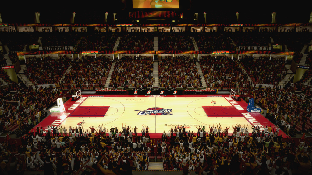 2005-2007 Quicken Loans Arena in Cleveland