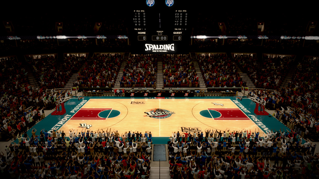1996-2001 The Palace of Auburn Hills in Detroit