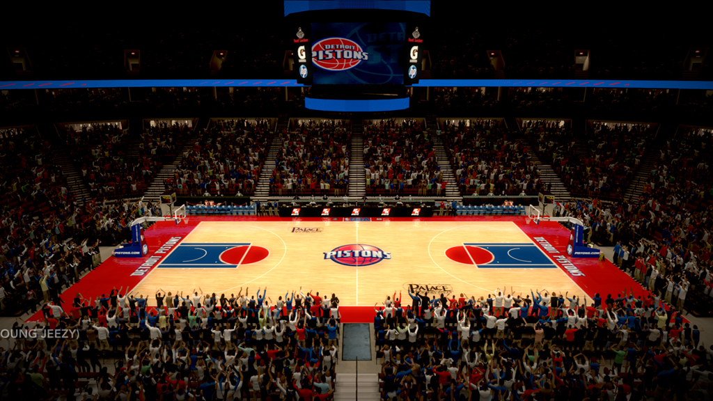 2001-2004 The Palace of Auburn Hills in Detroit