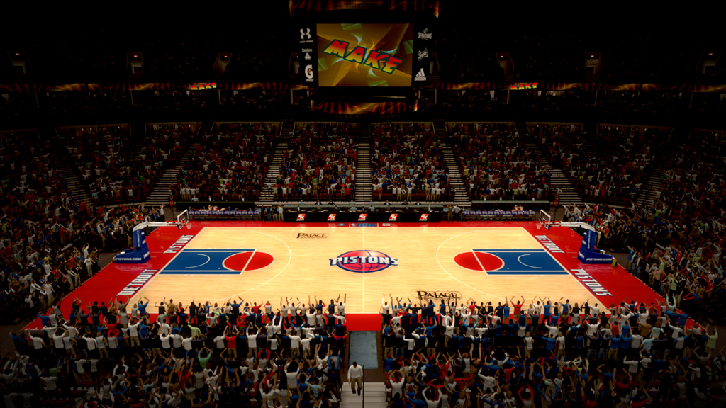 2004-2005 The Palace of Auburn Hills in Detroit