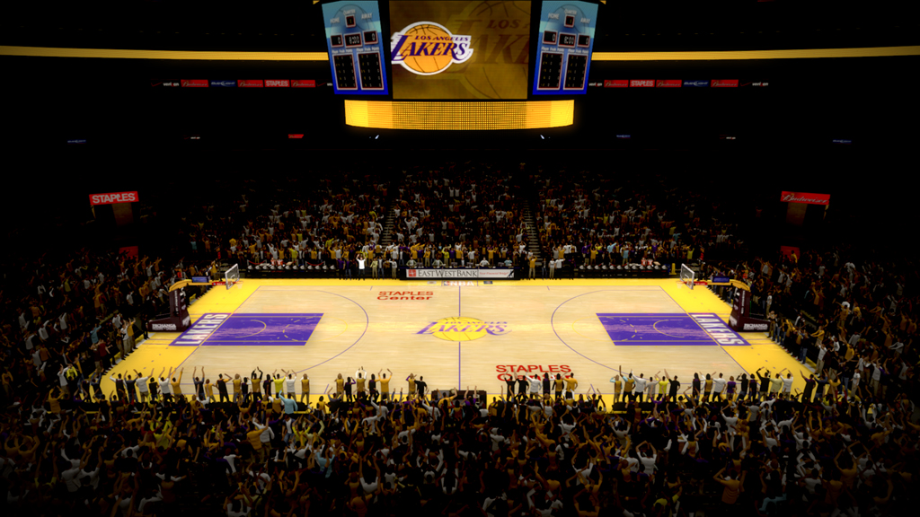 2004-2007 Staples Center in Los Angeles