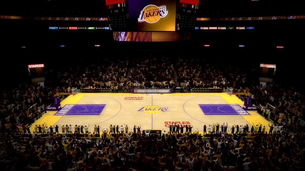 2007 Staples Center in Los Angeles