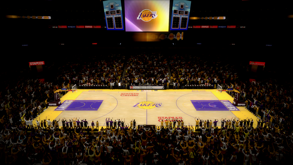 2007-2008 Staples Center in Los Angeles