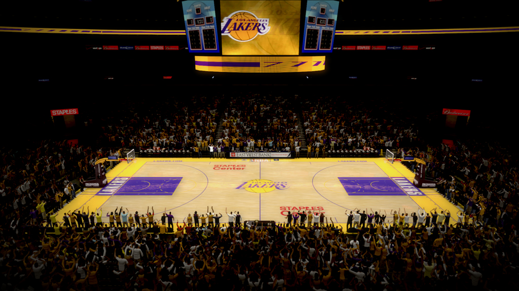 2008-2009 Staples Center in Los Angeles
