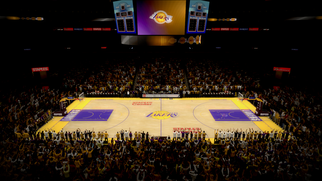 2010-2012 Staples Center in Los Angeles
