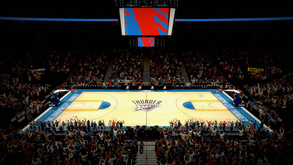 2010-2011 Oklahoma City Arena in Oklahoma City