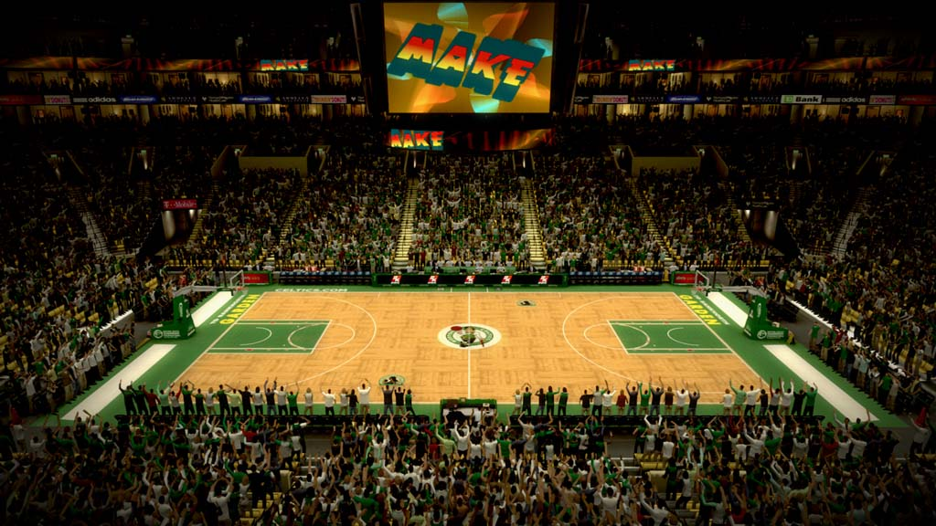 2006-2007 TD Banknorth Garden  in Boston