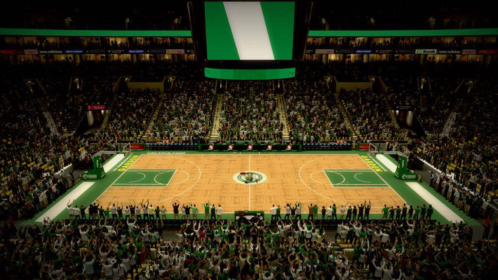 2007-2008 TD Banknorth Garden in Boston
