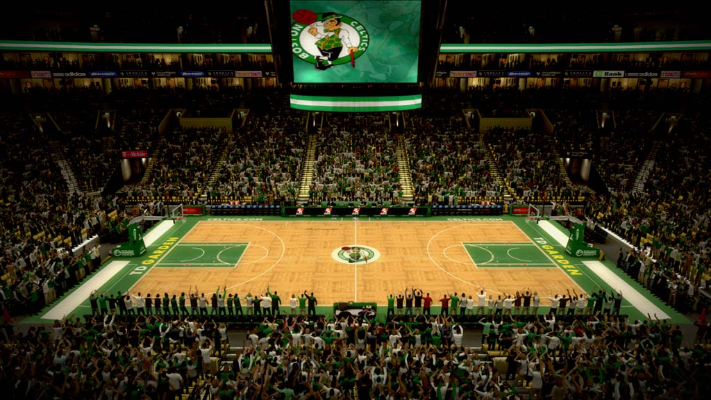 2011-2012 TD Garden in Boston