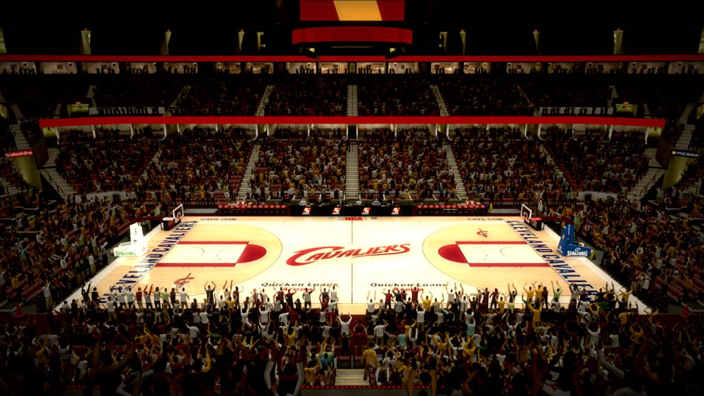 2006-2007 Quicken Loans Arena in Cleveland