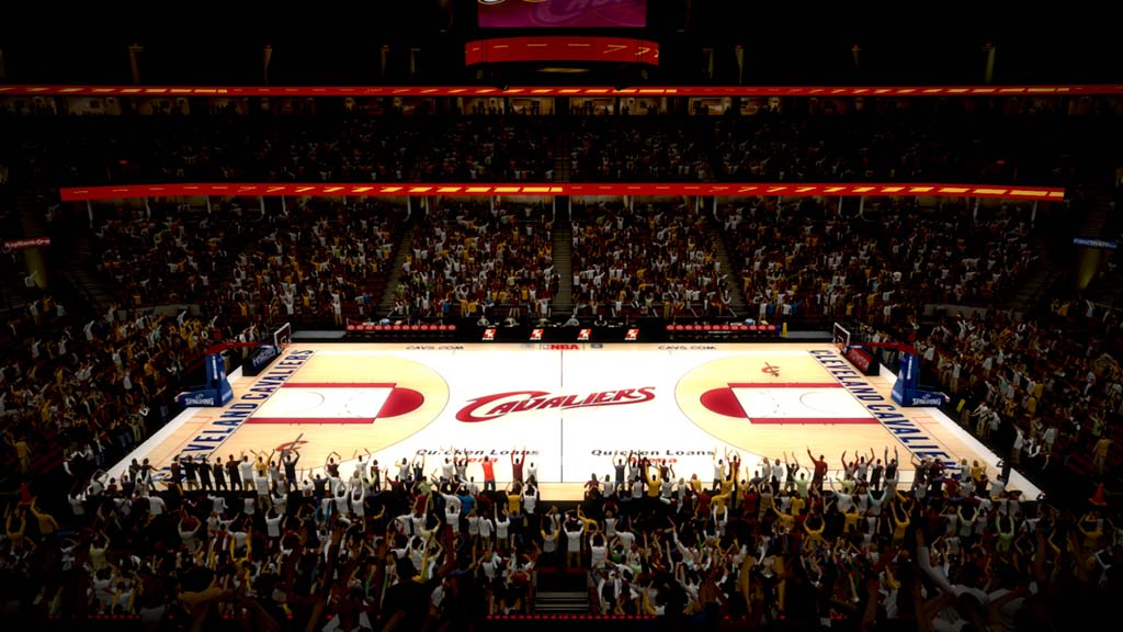 2007-2010 Quicken Loans Arena in Cleveland