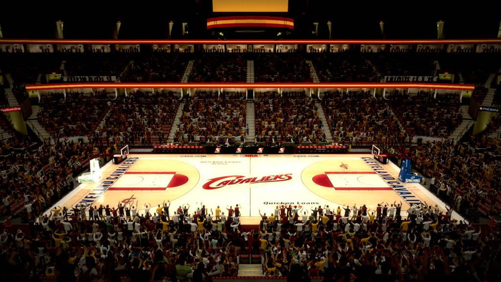 2009-2010 Quicken Loans Arena in Cleveland