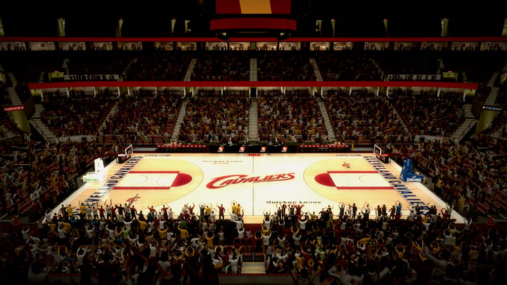 2010 Quicken Loans Arena in Cleveland
