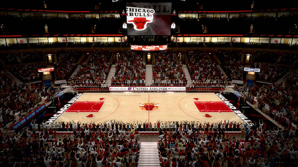 1994-1997 United Center in Chicago