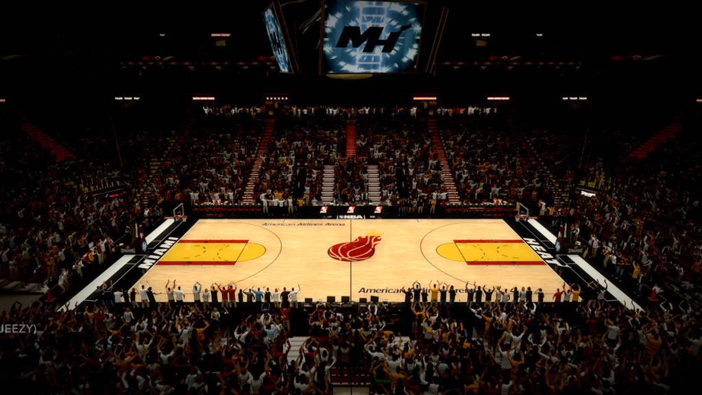 2000-2002 American Airlines Arena in Miami