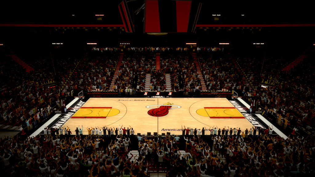 2002-2006 American Airlines Arena in Miami