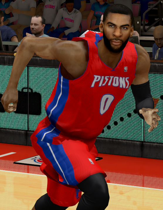 Andre Drummond Face