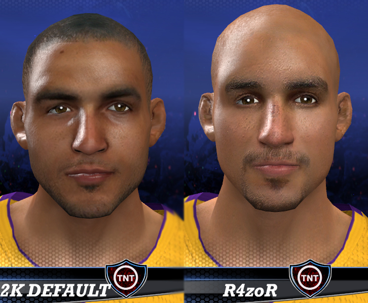 Robert Sacre Face