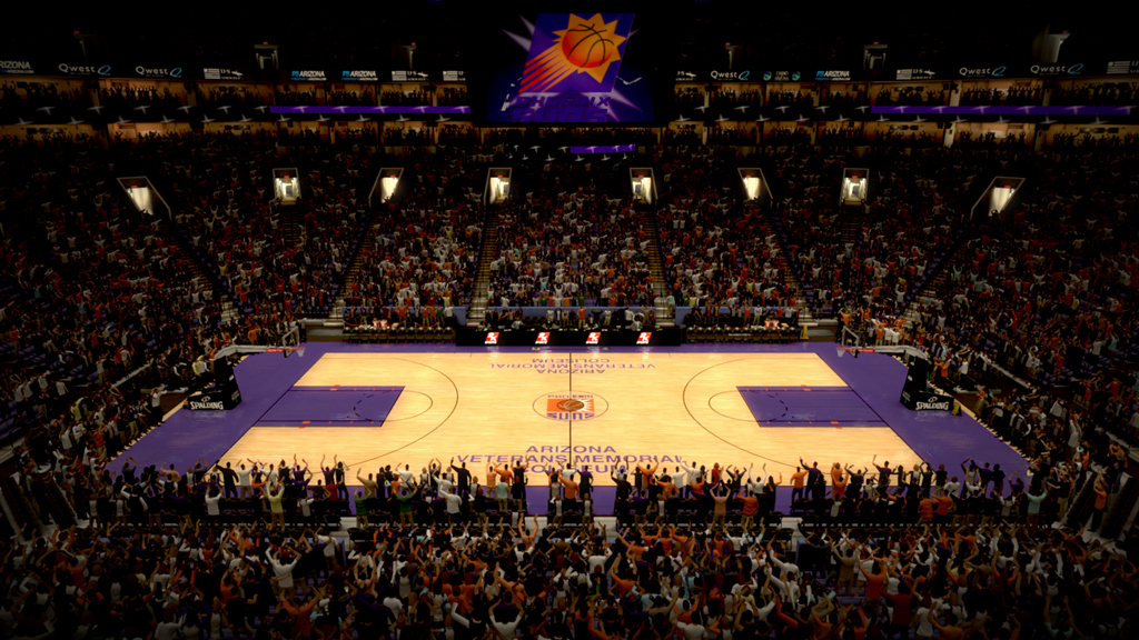 1979-1992 Arizona Veterans Memorial Coliseum in Phoenix