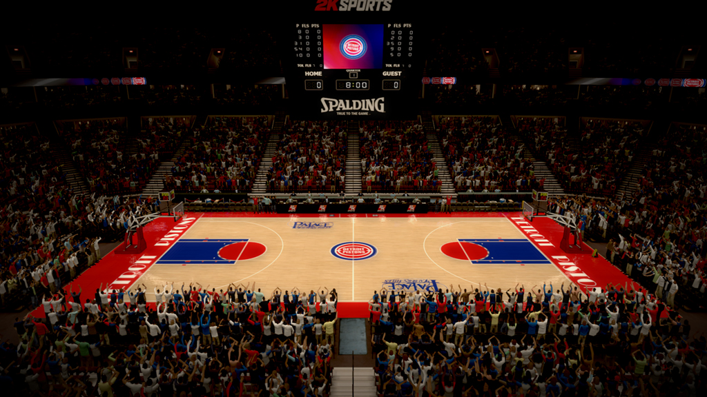 1990-1996 The Palace of Auburn Hills in Detroit