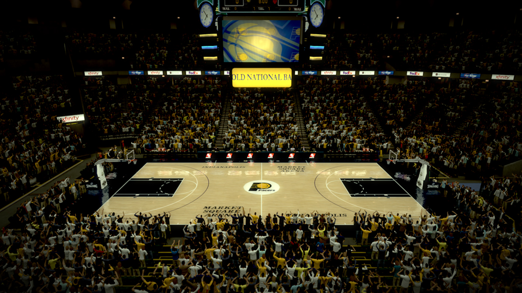 1990-1995 Market Square Arena in Indianapolis