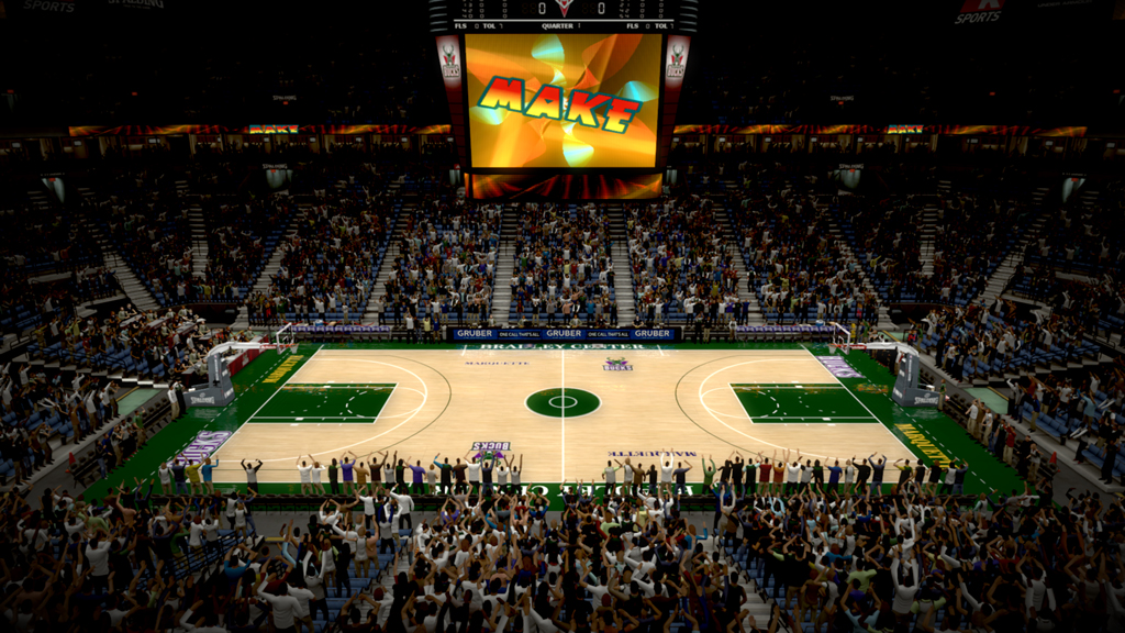 1993-1998 Bradley Center in Milwaukee