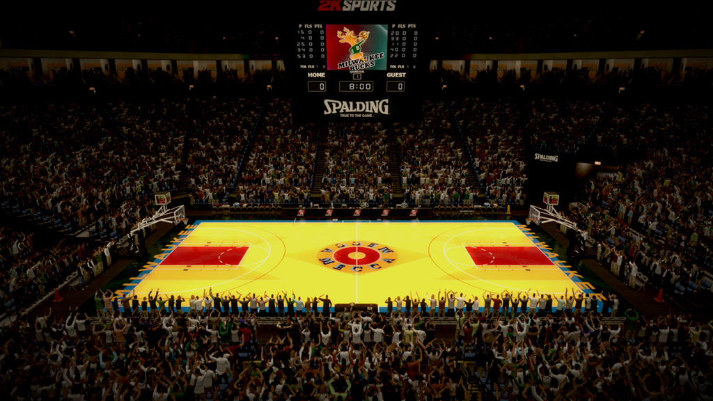 1986-1988 MECCA Arena in Milwaukee
