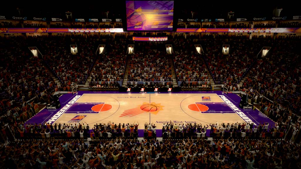 1995-1996 America West Arena in Phoenix