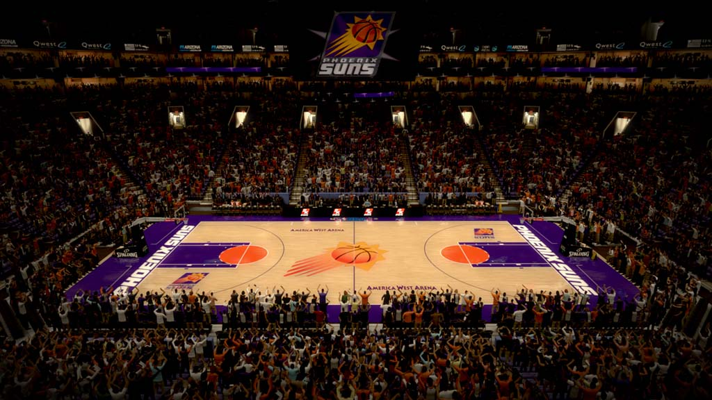 1996-1997 America West Arena in Phoenix