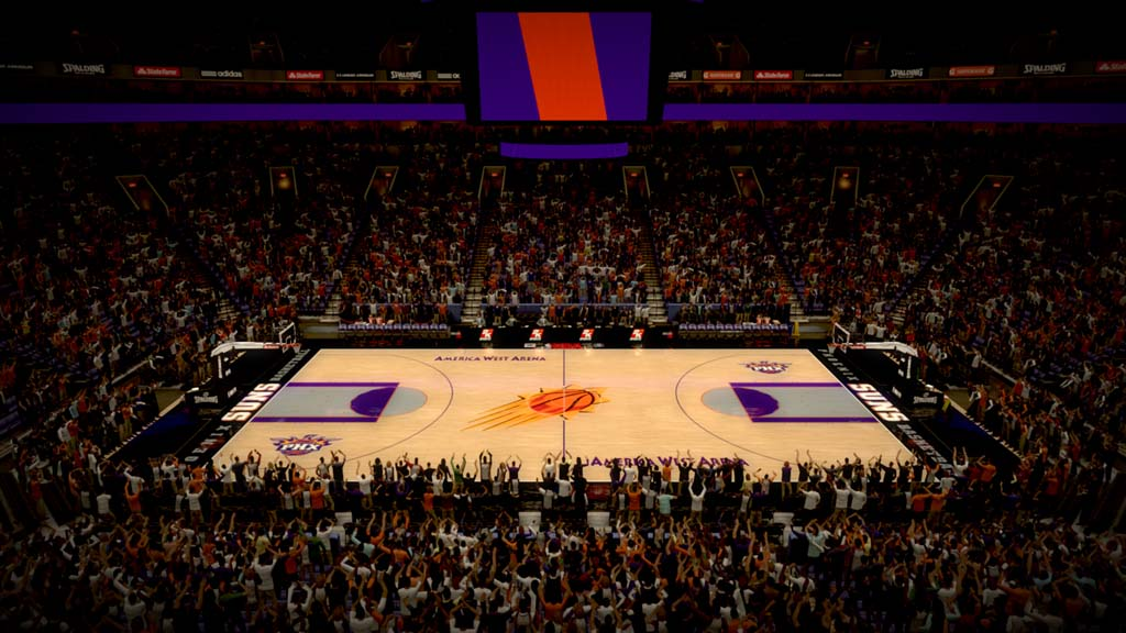 2000-2001 America West Arena in Phoenix