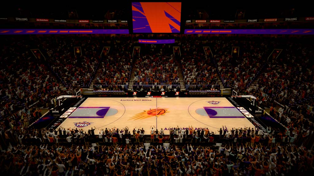 2001-2002 America West Arena in Phoenix